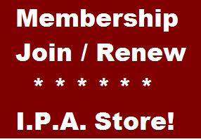 Join or Renew & Visit The IPA Store!